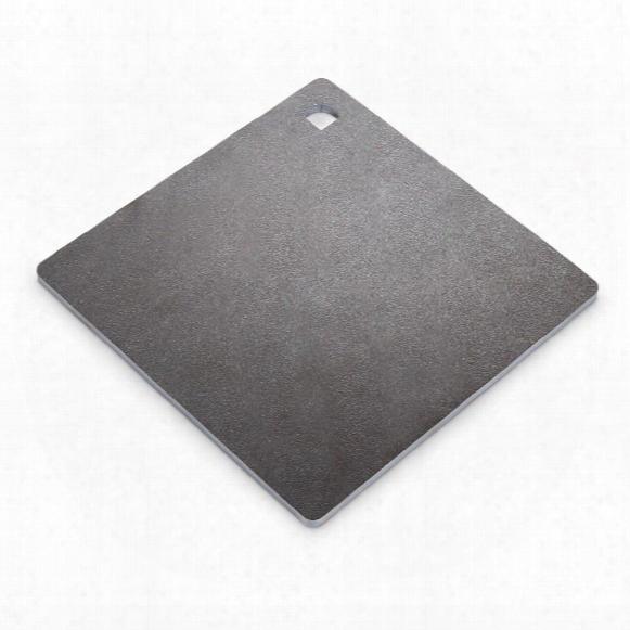 "Ar500 Hardened Steel Plate Shooting Target, 10"" X 10"", 1/4"""