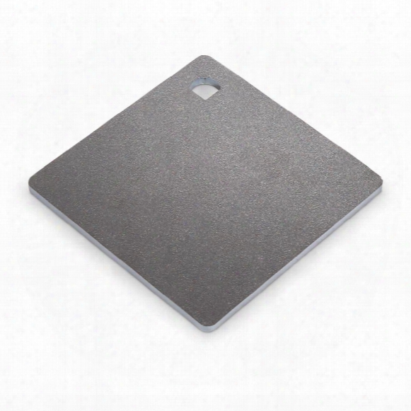 "Ar500 Hardened Steel Plate Shooting Target, 6"" X 6"", 1/4"""