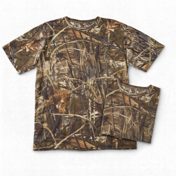 Bell Ranger Men's Camo Short-sleeve T-shirts, 2 Pack