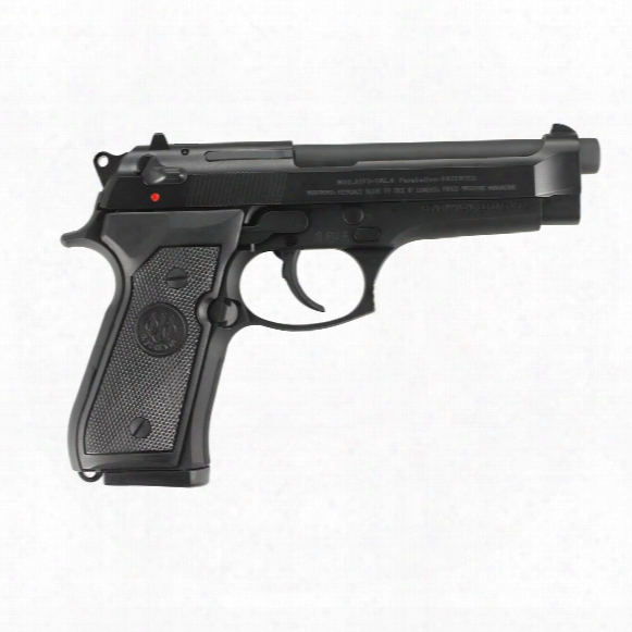 "Beretta 92fs, Semi-automatic, 9mm, 4.9"" Barrel, 15 Round Capacity"
