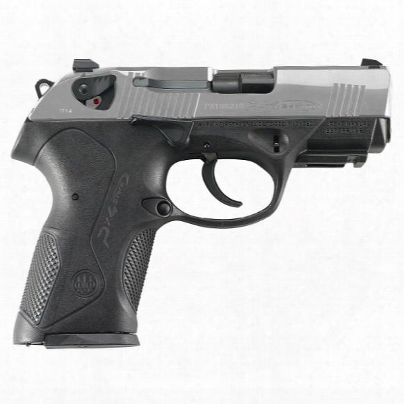 "Beretta Px4 Storm Inox Compact, Semi-automatic, 9mm, 4"" Barrel, 10 Rounds"