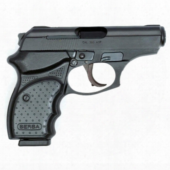 "Bersa Thunder .380 Concealed Carry, Semi-automatic, .380 Acp, 091664903752, 3.2"" Barrel, 8 Round Capacity"