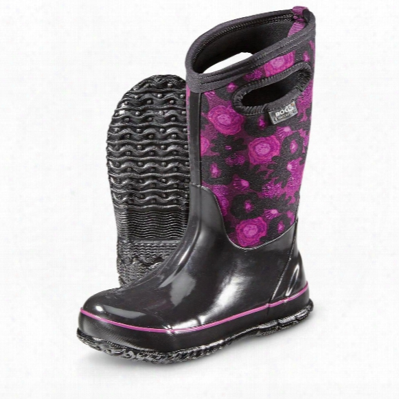 Bogs Kid's Watercolor Classic Rubber Boots