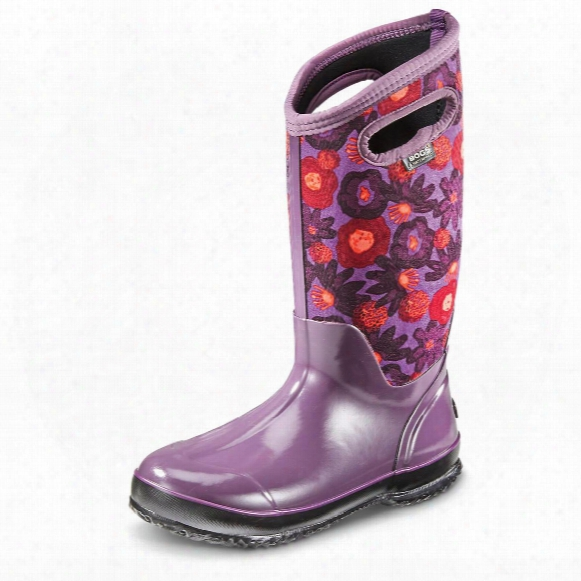 Bogs Women's Classic Watercolor Insulated Rubber Boots