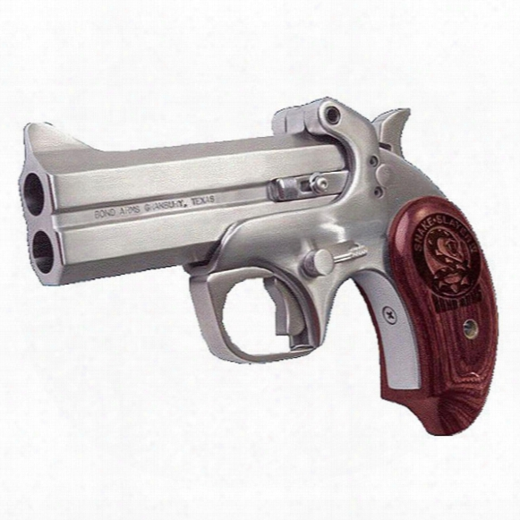 "Bond Arms Snake Slayer Handgun, Single Shot, .410 Bore/.45 Colt, 3.5"" Barrel, 2 Rounds"