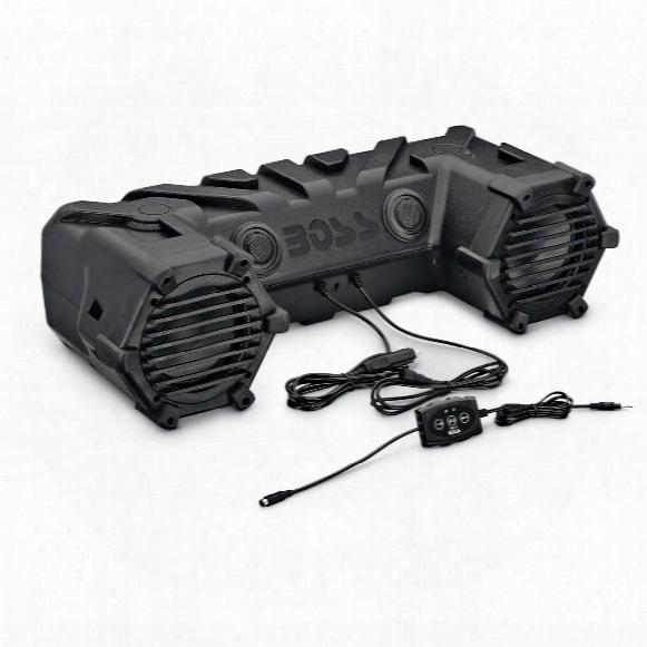 "Boss All-terrain Sound System, 6.5"" Speakers"