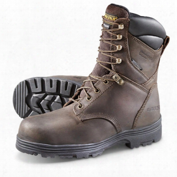 Carolina Insulated Waterproof Work Boots, 400 Grams