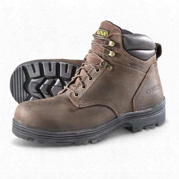 Carolina Men's Waterproof Steel Toe Work Boots