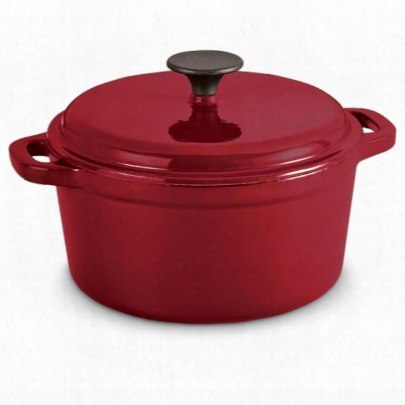 Castlecreek Enameled Cast Iron 3-liter Dutch Ovdn With Lid
