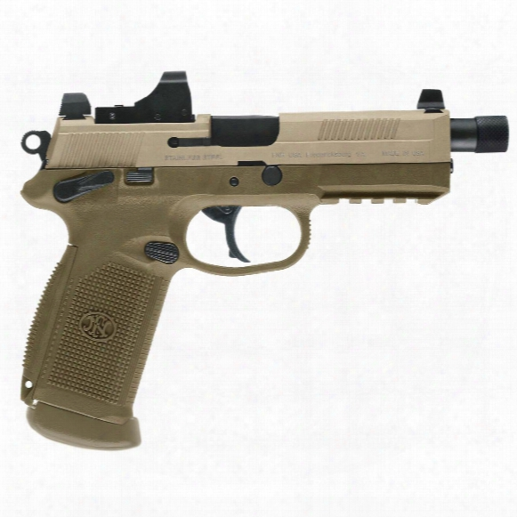"Fn Fnx-45 Tactical Pistol, Semi-automatic, .45 Acp, 5.3"" Barrel, 15+1 Rounds"
