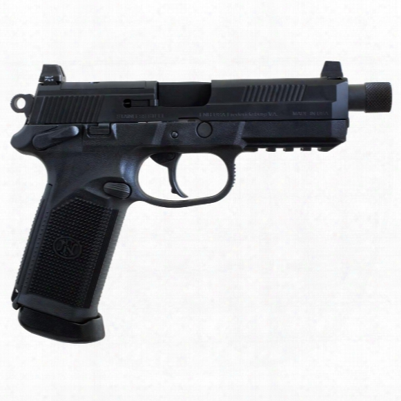"""Fnh Fnx-45 Tactical, Semi-automatic, .45 Acp, 5.3"""" Stainless Barrel, 15+1 Rounds"""