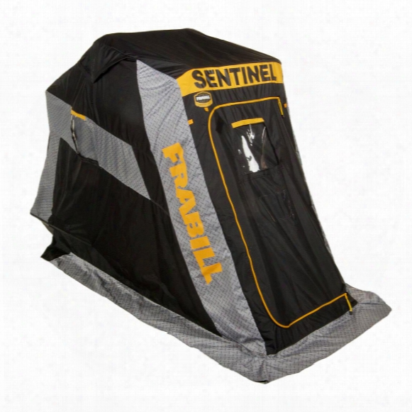 Frabill Sentinel 1100 Ice Fishing Shelter, Flip Over, Single Person