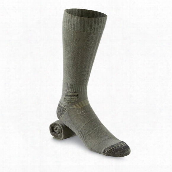 French Military Surplus Coolmax Socks, 4 Pack, New