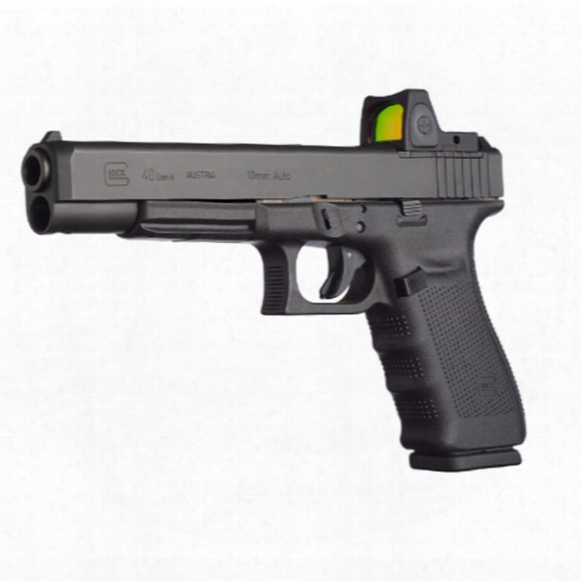 "Glock 40 Gen 4, Semi-automatic, 10mm, 6.02"" Barrel, Modular Optics System, 15+1 Rounds"