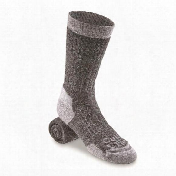 Guide Gear Heavyweight Lifetime Socks With Nanoglide, 3 Pairs