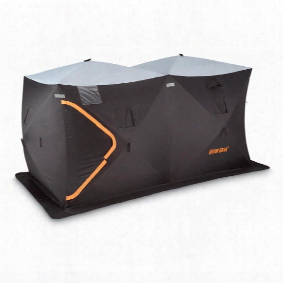 Guide Gear Insulated Ice Fishing Shelter, 6' X 12'