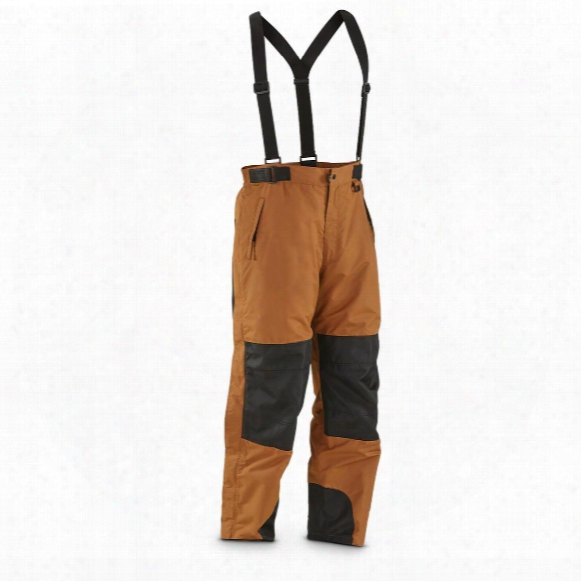 Guide Gear Men's Waterproof Suspender Snow Pants