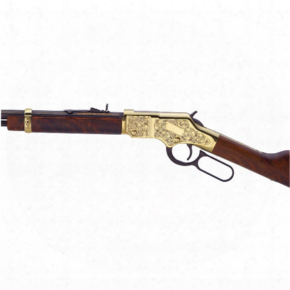 "Henry Golden Boy Deluxe 3rd, Lever Action, .22 Magnum, Rimfire, 20.5"" Barrel, 12 Rounds"