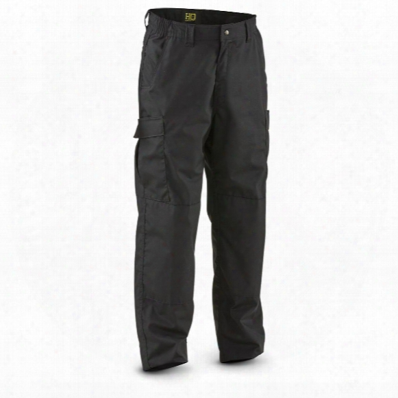Hq Issue Men's Military-style Ripstop Bdu Tactical Cargo Pants