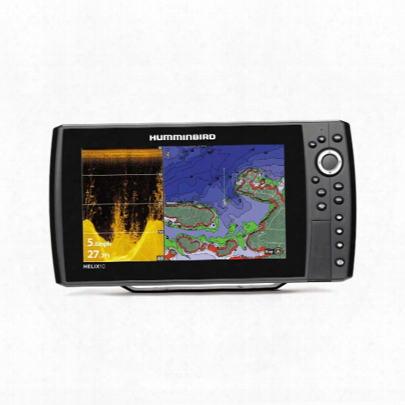 Humminbird Helix 10 Di Sonar Fish Finder Gps Combo