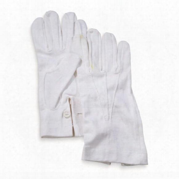 Italian Military Surplus Dress Gloves, 6 Pack, New