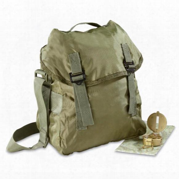 Italian Military Surplus U.s.-style Buttpack, 2 Pack, New