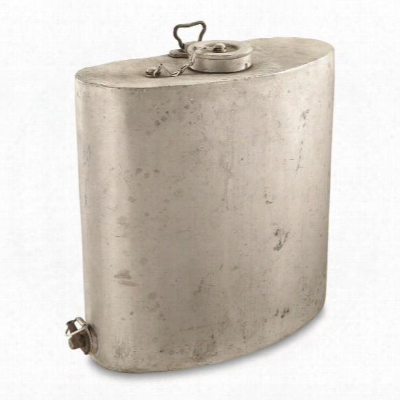 Italian Military Surplus Water Carrier With Wool Cover, Used