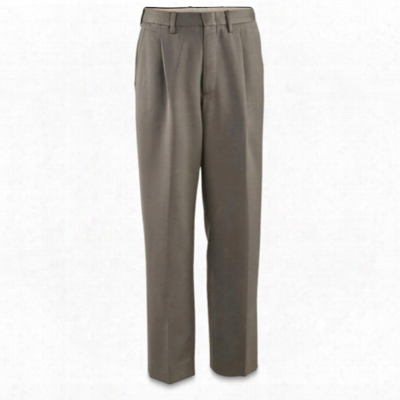 Italian Military Surplus Wool Dress Pants, 3 Pack, Like New