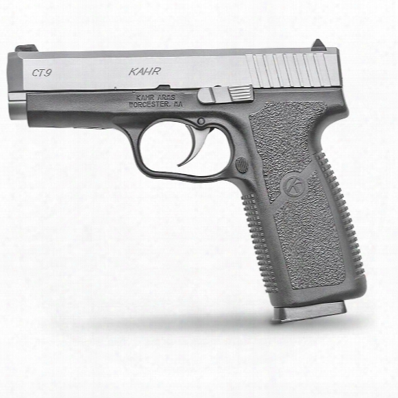"Kahr Ct9, Semi-automatic, 9mm, 4"" Barrel, 8+1 Rounds"