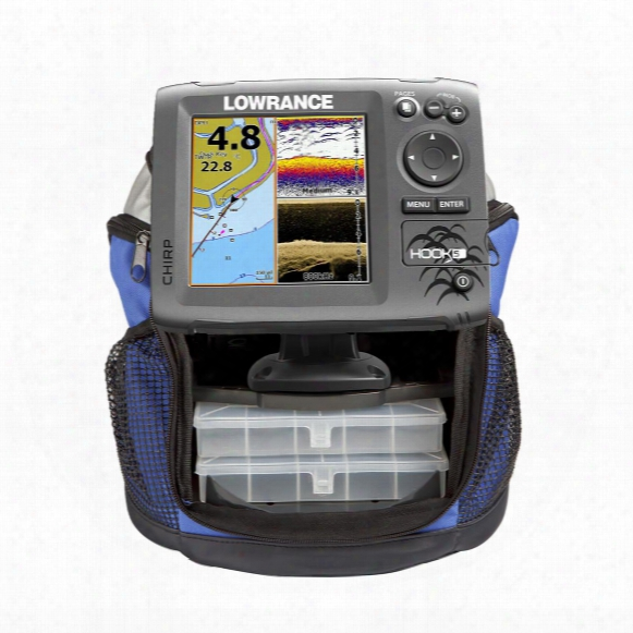 Lowrance Hook-5 Ice Machine Fishfinder With Transducer