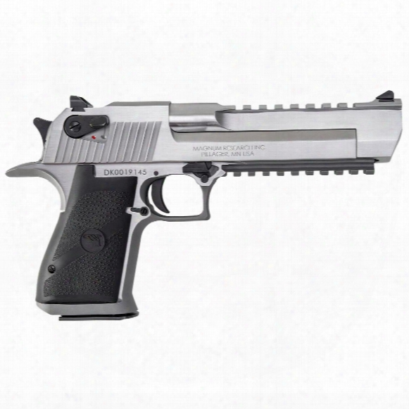Magnum Research Desert Eagle Mark Xix, Semi-automatic, .50 Action Express, Bottom Rail, 7 Round Capacity