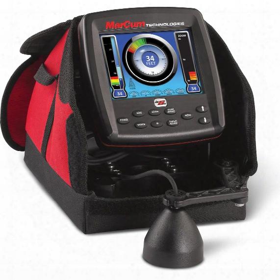 "Marcum Lx-6s Digital Sonar System 6"" Lcd Dual Beam With 8° / 20° Transducer"