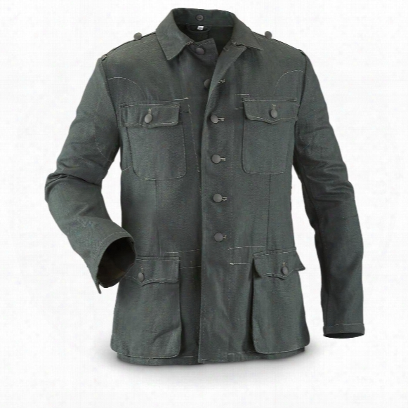 Men's German Military M40 Work Jacket, Reproduction, Summer