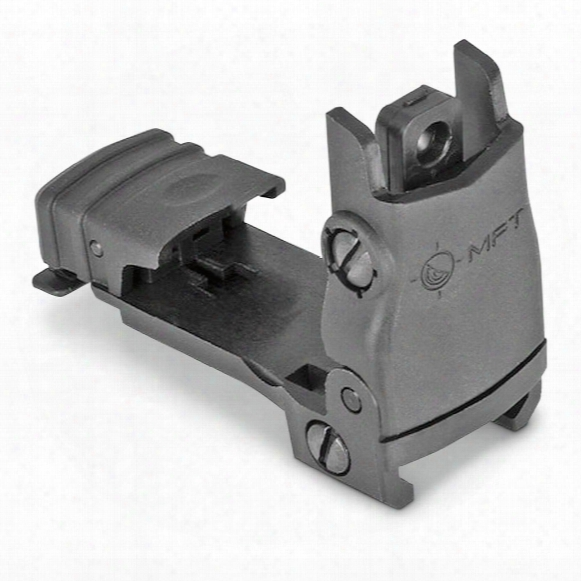 Mission First Tactical Flip-up Rear Sight, Infinite Moa, Ar-15