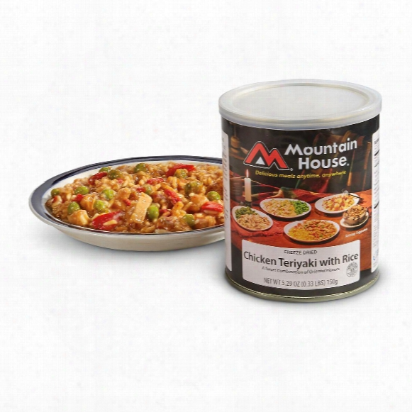 Mountain House Freeze-dried Chicken Teriyaki, 2 Pack