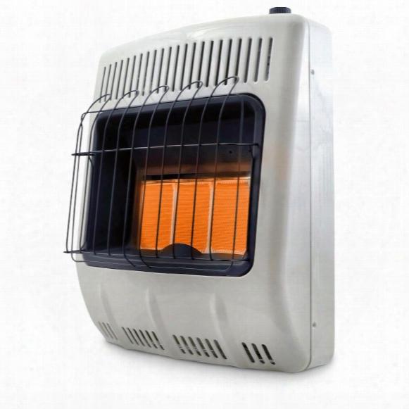 Mr. Heater Vent-free Radiant Natural Gas Heater, 20,000 Btu