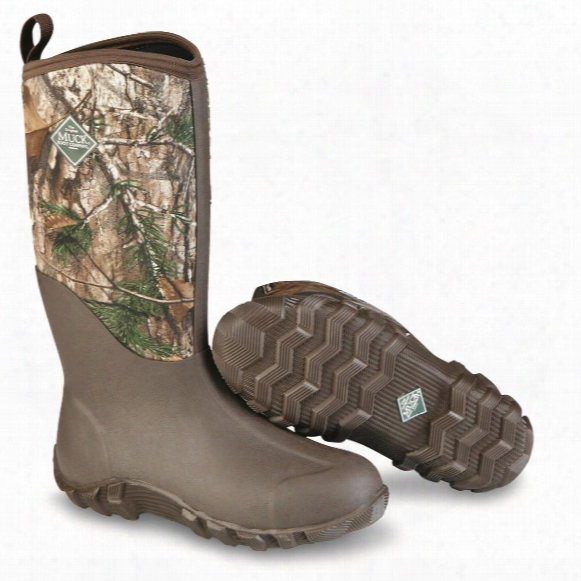 Muck Fieldblazer Ii Men's Waterproof Camo Rubber Hunting Boots, Realtree Xtra Camo