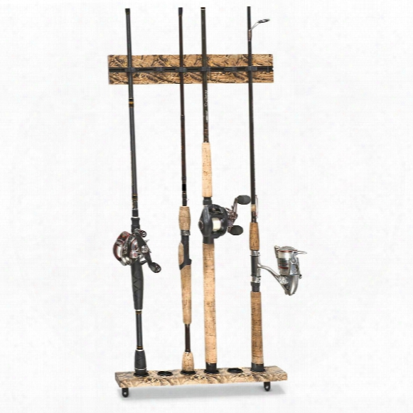 Organized Fishing 6 Rod Vertical Modular Wall Rack