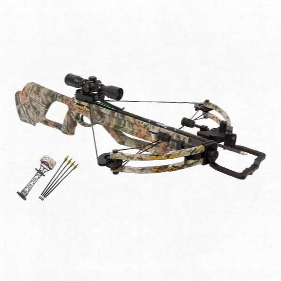 Parker Bows Centerfire Crossbow Package With 3x Multi-reticle Scope
