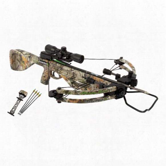 Parker Bows Thunderhawk Crossbow Package With 3x Illuminated Multi-reticle Scope