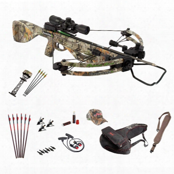 Parker Bows Thunderhawwk Perfect Storm Crossbow Package With 3x32mm Scope