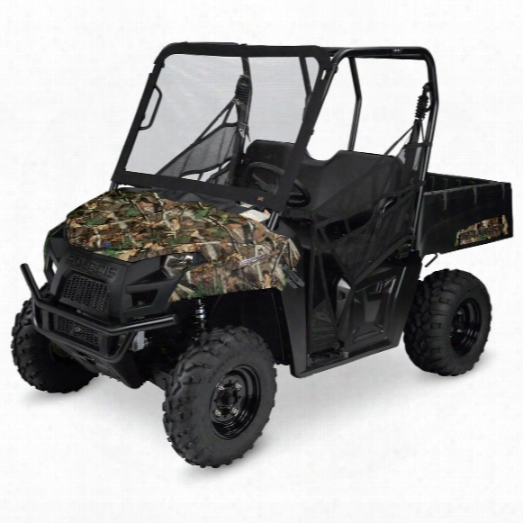 Quad Gear Utv Front Windshield, Polaris Ranger Mid-size 400, 500 And 800 Series