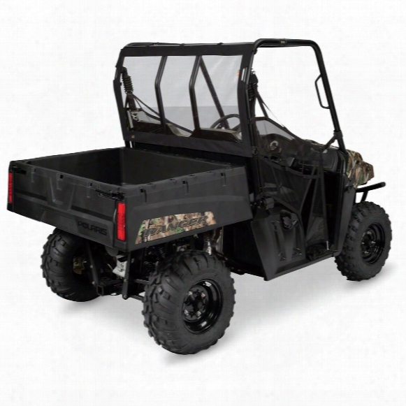 Quad Gear Utv Rear Window For Polaris Ranger Mid-size 400, 500 And 800 Series