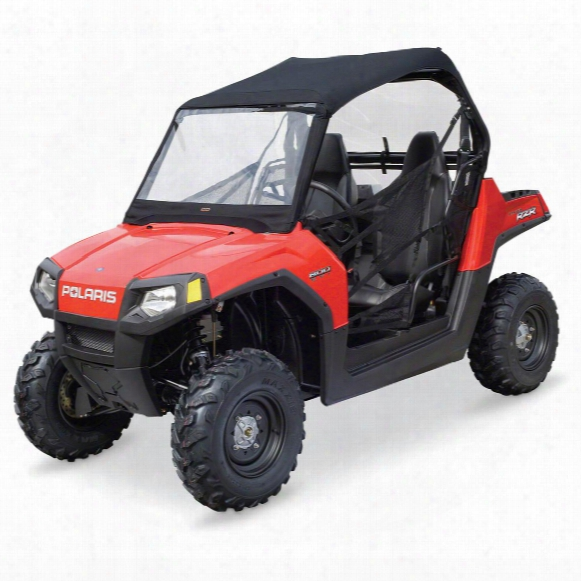 Quad Gear Utv Roll Cage Top, Windshield For Polaris Rzr 2-seat Models