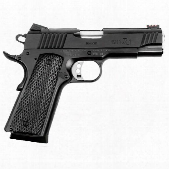 "Remington 1911 R1 Enhanced Commander, Semi-automatic, .45 Acp, 4.25"" Barrel, 8+1 Rounds"