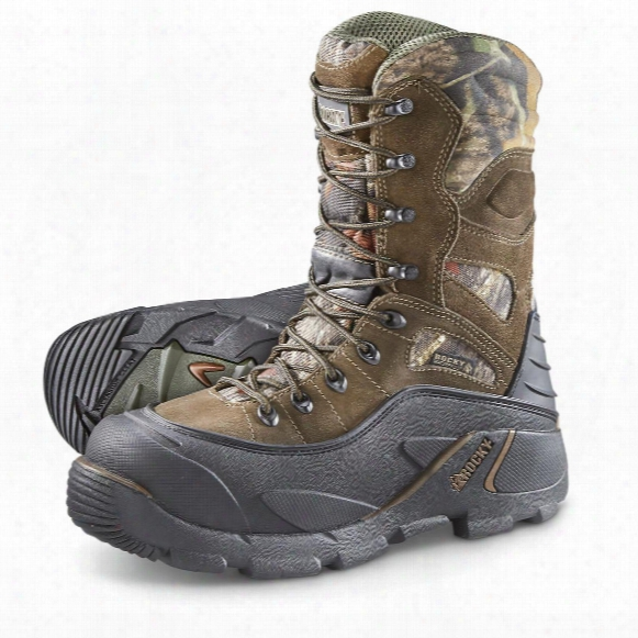 Rocky Blizzardstalker Pro Insulated Waterproof Boots, 1200 Grams, Mossy Oak Camo