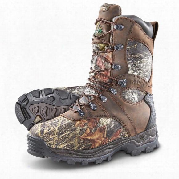Rocky Sport Utility Pro Insulated Waterproof Boots, 1000 Grams, Mossy Oak Camo