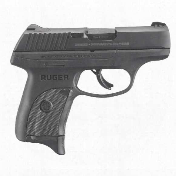 """Ruger Lc9s Pro, Semi-automatic, 9mm, 3.12"""" Barrel, Integrated Trigger Safety, 7+1 Rounds"""