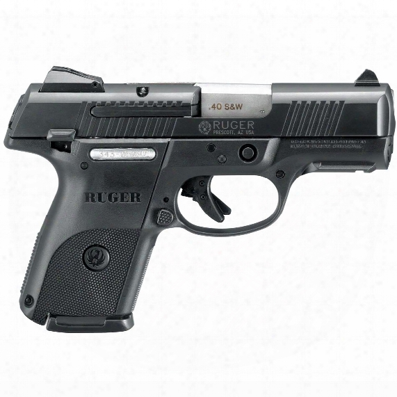 Ruger Sr40c, Semi-automatic, .40 Smith & Wesson, High-capacity, 15+1