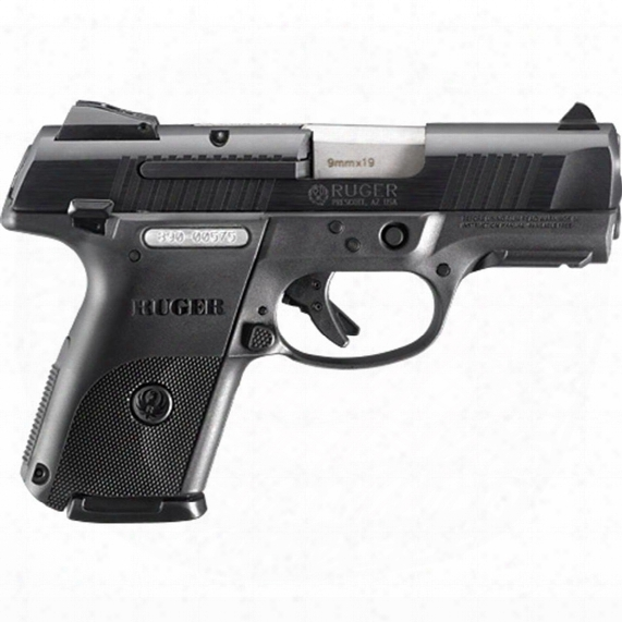 "Ruger Sr9c Compact, Semi-automatic, 9mm Luger, 3.4"" Barrel, 10+1 Rounds"